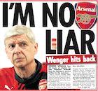 BACK PAGES: Wenger hits back