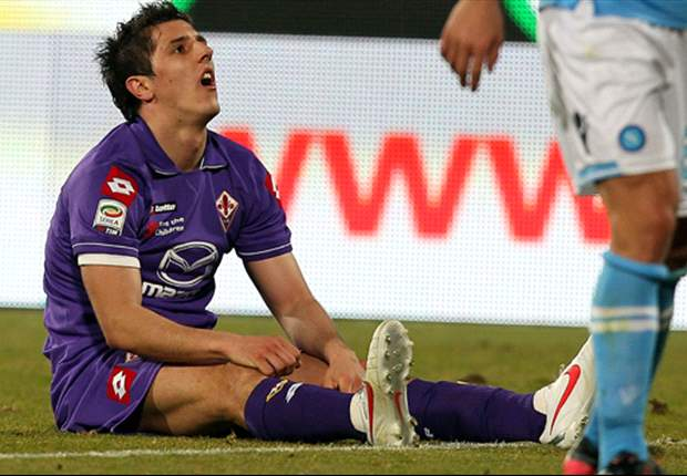 Juventus target Jovetic frustrated by Fiorentina stripping him of captaincy - report