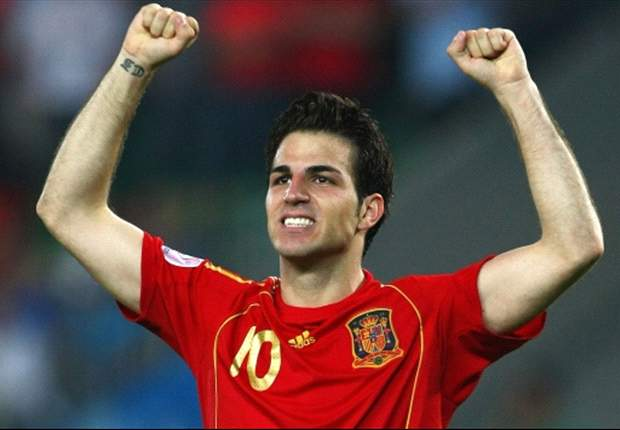 Fabregas: Spain can claim historic treble