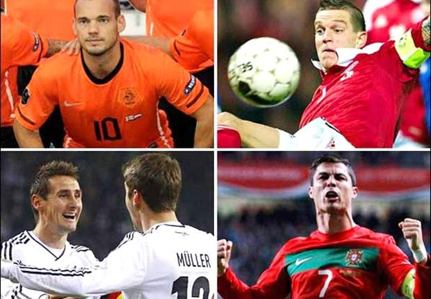 Contract issues hampering Van Persie and five things we learnt from day two of Euro 2012