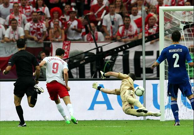 Were you watching Manchester United? - How summer transfer target Lewandowski fared in Euro 2012 opener