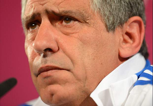 Fernando Santos: Jerman Goliath, Yunani David