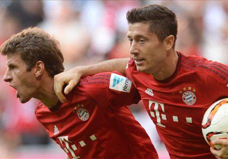 Muller edges Bayern past Augsburg