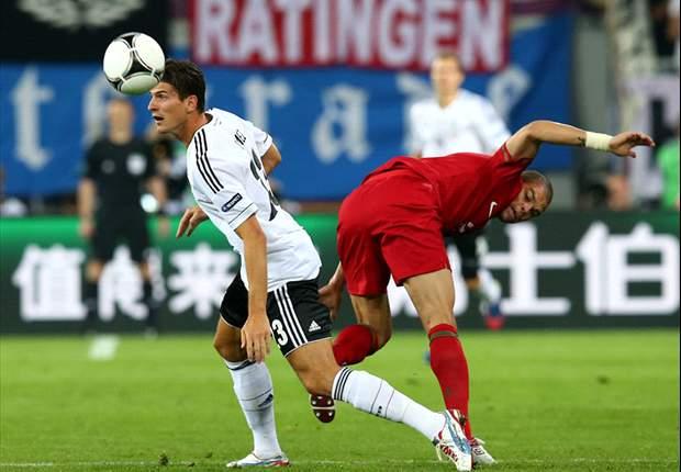 Gol Tunggal Mario Gomez Menangkan Jerman