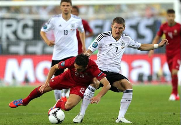 Schweinsteiger nega medo alemão da Itália