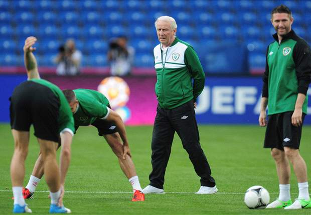 Given & O'Shea to start as Republic of Ireland boss Trapattoni names strongest XI for Croatia clash