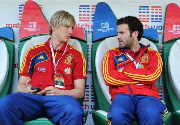 Torres: Mata is sad at being left out of the Spain squad