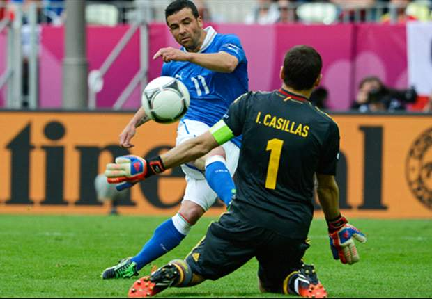 스페인-이탈리아, 명승부 끝에 1-1 무승부