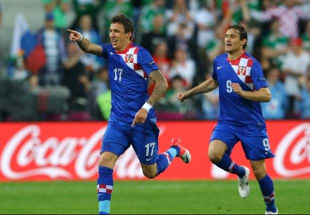 Mario Mandzukic: Early goal was key for Croatia win