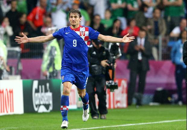 Jelavic misses Croatia training with fever