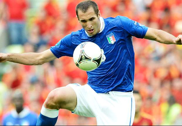 Chiellini takes blame for Croatia equaliser