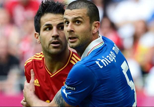 HEAD-TO-HEAD: Italia Unggul Di Rekor, Spanyol Positif Di Tren Permainan