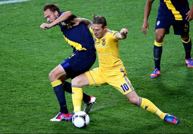 Shevchenko bevestigt heldenstatus tegen Zweden