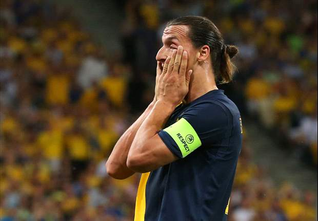 Ibrahimovic: Sweden were the better team against England