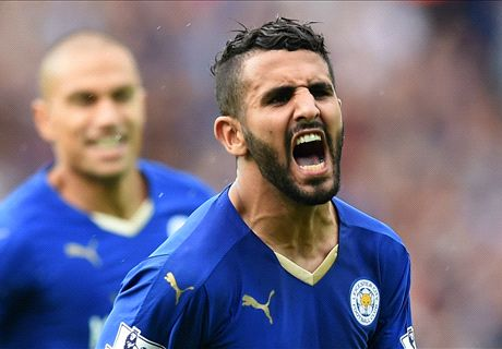 VIDEO: Mahrez's amazing freestyle skills