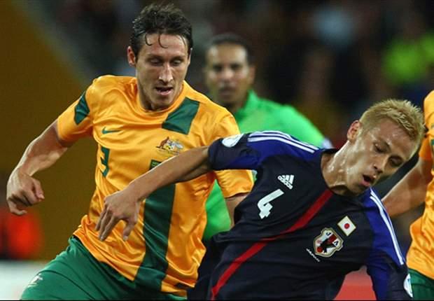 日本代表、オーストラリアとのアウェー戦で1-1