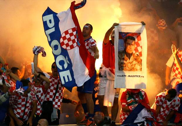 Uefa fines Croatian FA €80,000 for racist chanting and improper conduct during Italy clash