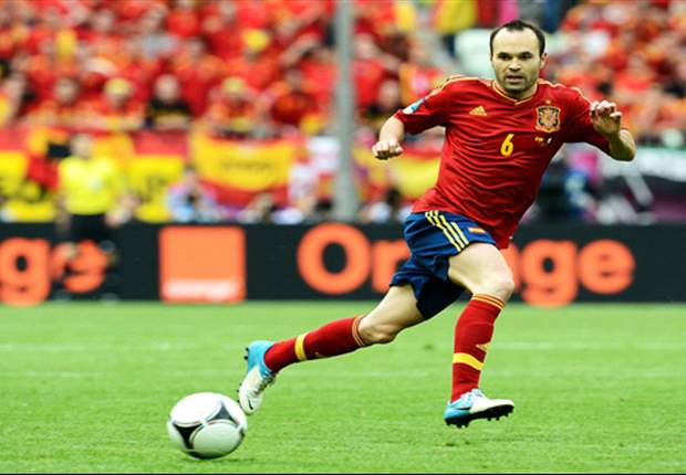 Top 20 highest rated players of Euro 2012 group stage