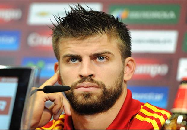Pique plays down duel with Cristiano Ronaldo