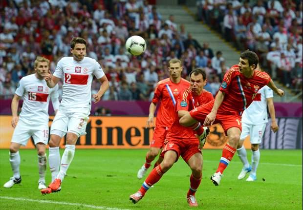 Polonia 1-1 Rusia: Anfitrión y favorito firman tablas en un partido vibrante