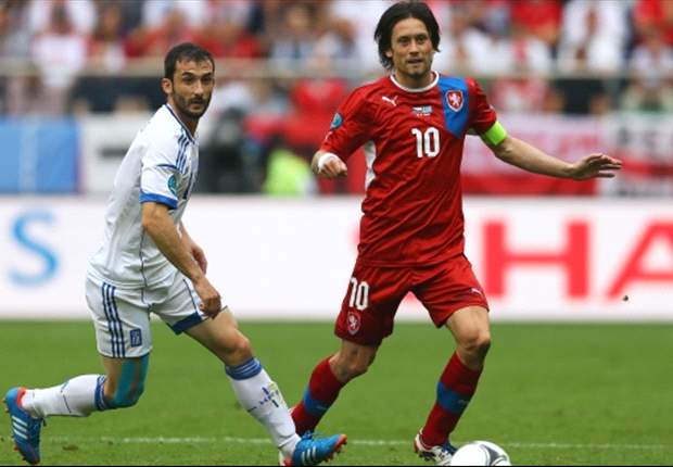 TEAM NEWS: Rosicky ruled out as Czech Republic prepare for Poland test