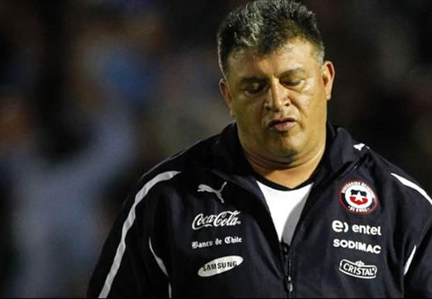 Chile boss Borghi insists he is not under pressure