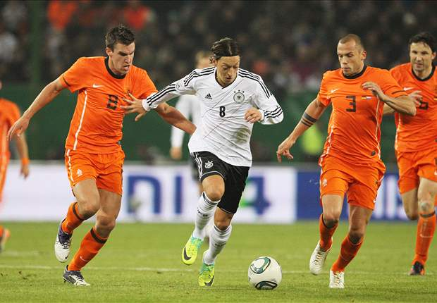 Rijkaard's spit at Voller, Van Basten's late winner & the top five Netherlands v Germany clashes