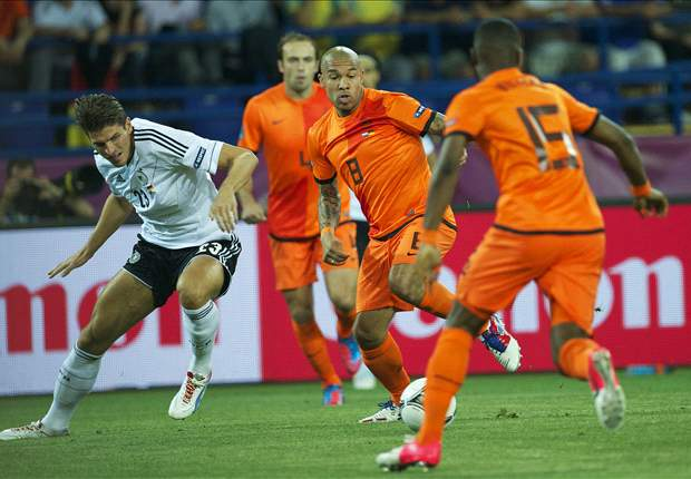 Nigel de Jong: Netherlands don't have to apologise for Euro 2012 exit