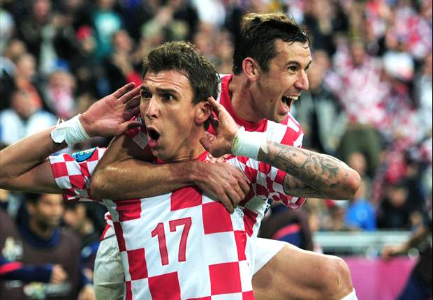 Srna confident Croatia can beat 'human' Spain following Italy draw