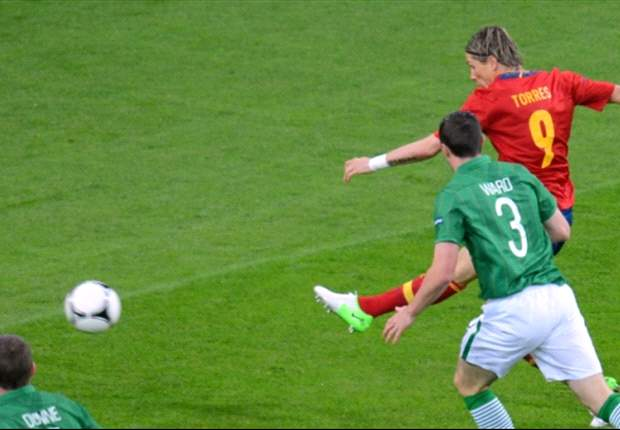 Spain 4-0 Ireland: Torres leads procession as Trapattoni's men are eliminated