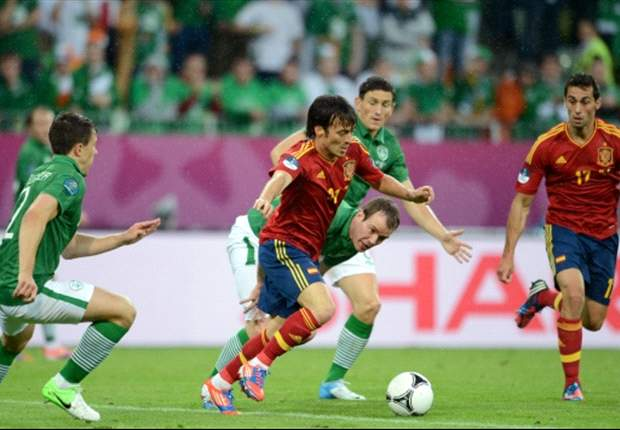 Spain 4-0 Republic of Ireland: Key match stats