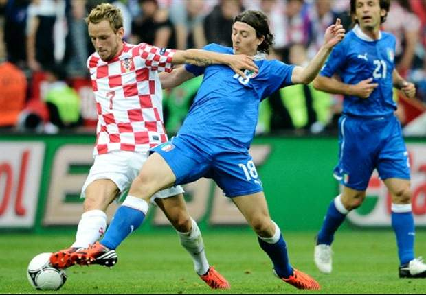 'Italy showed us how to oppose Spain' - Rakitic calls for aggressive Croatia
