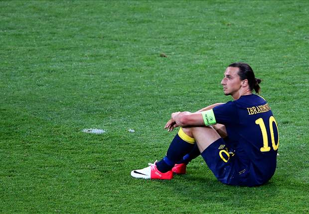 Ibrahimovic rues bad luck following 'tragic' loss to England