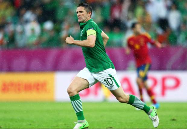 Robbie Keane ruled fit for Ireland's qualifier against Faroe Islands