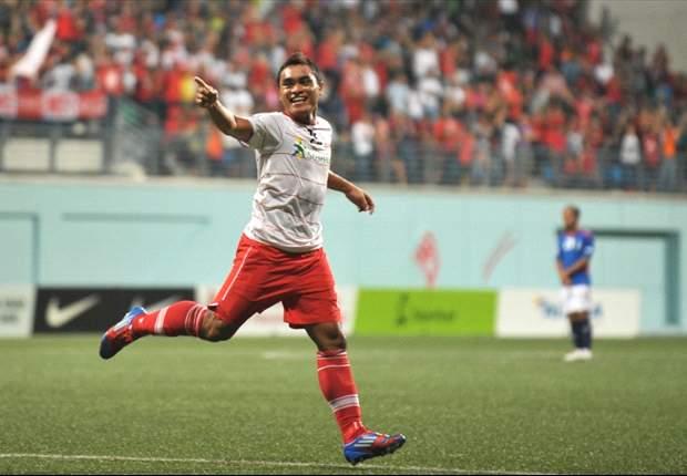 New SAFFC striker Sufian Anuar ready for 2013 S.League season