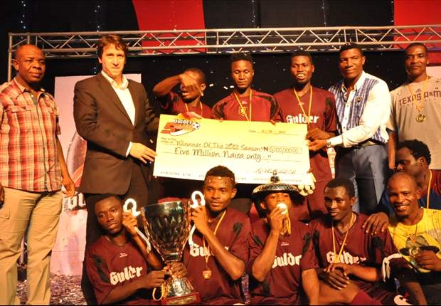 TK Academy beat Sheriff FC to win 2012 Gulder Ultimate 5-A-Side competition
