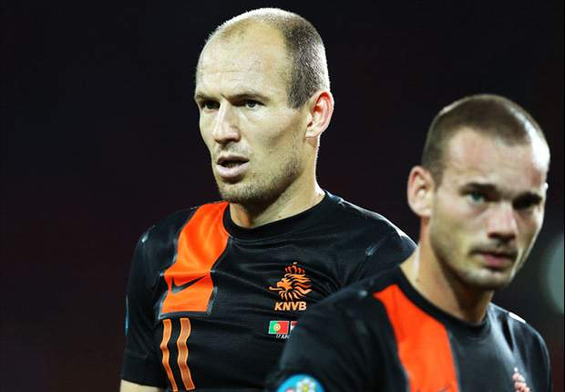 Robben: The pressure is on Germany