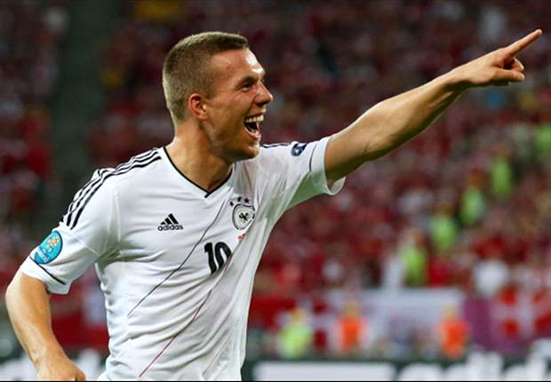 Podolski: Denmark game marked a milestone for me, but it is the win that matters