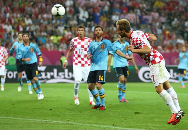 Croatia 0-1 Spain: Navas sends holders through in top spot
