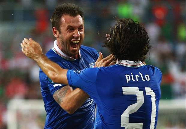 Italy 2-0 Ireland: Cassano & Balotelli seal qualification