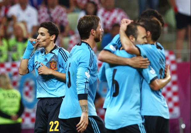 'Referees don't respect us' - Croatia's Srna claims officials favoured Spain