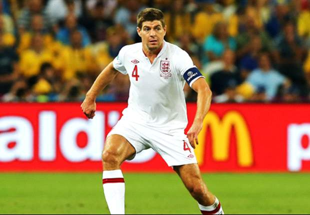 With Lampard at home, Gerrard is starting to shine for England