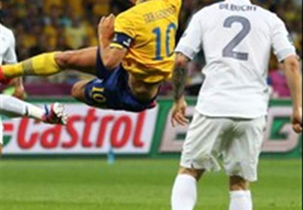 Sweden 2-0 France: Stunning Ibrahimovic goal condemns Les Bleus to Spain test