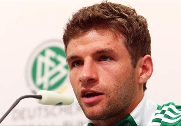 Thomas Muller in bullish mood ahead of Germany's semi-final with Italy