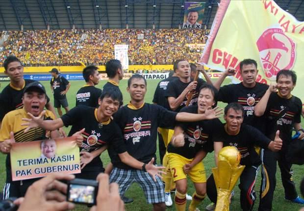 Sriwijaya FC Catat Rekor Penonton Terbanyak ISL
