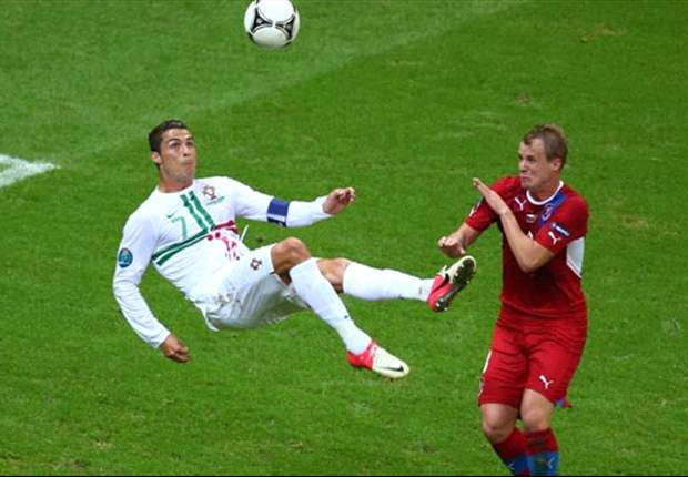 Czech Republic 0-1 Portugal: Ronaldo finally breaks through