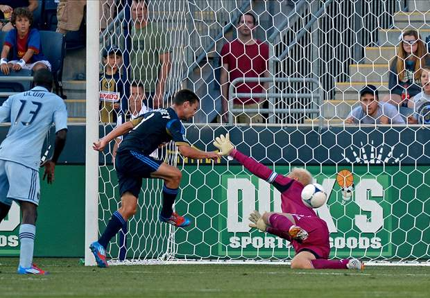 Philadelphia Union 4-0 Sporting Kansas City: Union Jack pays his dues