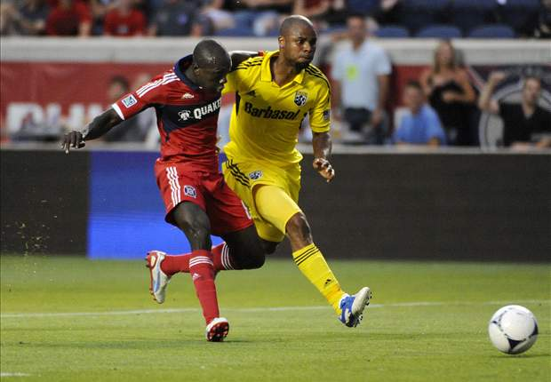Chicago Fire 2-1 Columbus Crew: Pappa and Oduro put the Fire past the Crew
