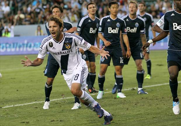 LA Galaxy 3-0 Vancouver Whitecaps: LA scores three to make it three wins in a row