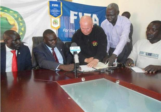 Zoran Djordjevic becomes South Sudan's first coach